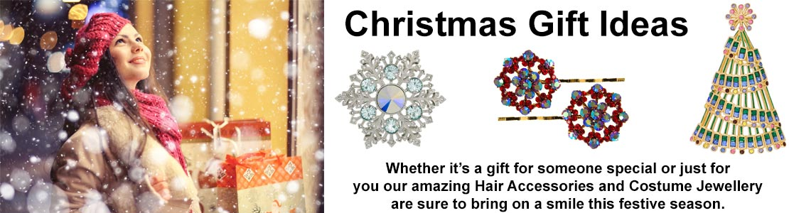 Christmas Hair Accessories and Costume Jewellery